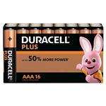 Duracell Plus Power AAA 16 Pack